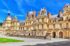 Пригородная резиденция королей Франции стоковые изображения rf