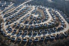 Пригородное разрастание Стоковая Фотография