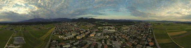 Пригородный городок стоковое фото