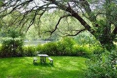 Пригородный парк Стоковое Изображение