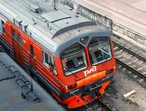 Пригородный поезд ED4M Стоковое Изображение