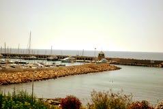Пригородный порт Стоковые Изображения