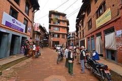Пригороды Катманду, Непал Стоковая Фотография RF