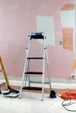 приготовление уроков 2 красок стоковые фотографии rf