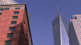 Приготовьте к всемирному торговому центру одному сток-видео