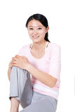 Пригодность женщины Стоковые Фотографии RF