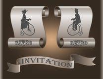 Пригласите ваших друзей к вашему торжеству в красивом месте Стоковая Фотография RF