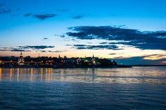 Приглашая пляж Стоковое фото RF