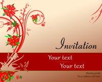 Приглашение встречая награждать Стоковое Изображение RF