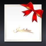 1 приглашение карточки Стоковое Фото