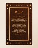 Приглашение партии Vip Сертификат с диамантами Вектор знамени с янтарем иллюстрация вектора