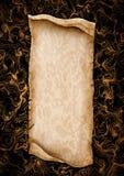 Приглашение свадьбы пергамента Стоковые Изображения