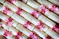 Приглашение свадьбы Стоковые Фото