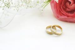 Приглашение свадьбы Стоковые Изображения