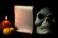 Приглашение для события хеллоуина Стоковое Изображение RF