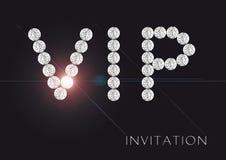 Приглашение VIP Стоковая Фотография