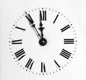 придавать правильную формуый конец часов Стоковые Фото