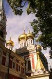 придает куполообразную форму: золотистого русского стоковые изображения rf