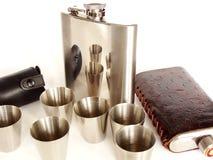 придает форму чашки вальма склянок Стоковая Фотография RF