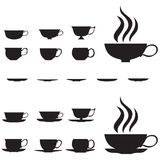 придает форму чашки малый чай Стоковое Изображение