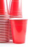 придает форму чашки пластмасса Стоковые Фотографии RF