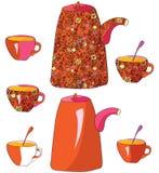 придает форму чашки чай баков бесплатная иллюстрация