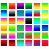 Придайте квадратную форму кнопкам Стоковое Фото