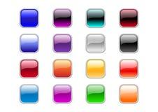 Придайте квадратную форму кнопкам