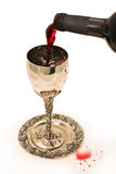 придайте форму чашки вино shabbats Стоковое фото RF