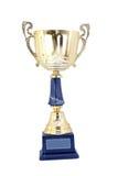 придайте форму чашки золото Стоковая Фотография RF