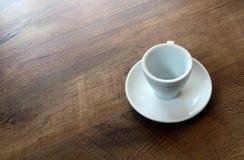 придайте форму чашки пустая Стоковая Фотография RF