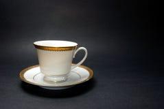 придайте форму чашки чай поддонника Стоковое Изображение RF