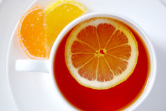 придайте форму чашки чай Стоковое Фото