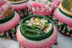Приданое свадьбы, замужество приданого в свадьба Таиланде, Таиланде, стоковое фото