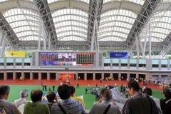 придержанный в ипподроме Shatin на hk 2010 Стоковые Изображения RF