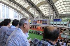 придержанный в ипподроме Shatin на hk 2010 Стоковые Фото