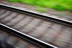 приезжает railway платформы, котор нужно натренировать Стоковое Изображение RF