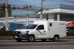 Приемистость доставки денег Guardforce Компании стоковые фото