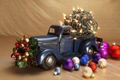 Приемистость с украшением рождества Стоковая Фотография