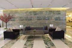 Приемная лобби роскошной гостиницы Стоковое Фото