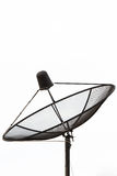 Приемник спутникового телевидения Стоковые Изображения RF