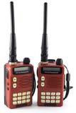 Приемопередатчик портативного радио Стоковая Фотография RF