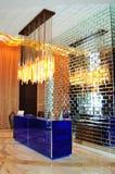 прием гостиницы роскошный самомоднейший Стоковая Фотография