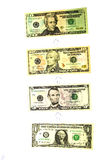 прием доходов роста 1 доллара Стоковые Изображения