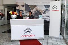 Прием комнаты выставки Citroà «n Стоковое Изображение RF