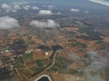 Приземляться в центральный Израиль в лете Стоковое Фото