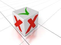 признавайте склонение иллюстрация вектора
