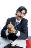 признательный менеджер Стоковая Фотография RF