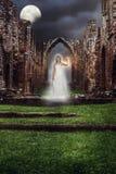 Призрак аббатства Стоковые Фото