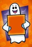 Призрак хеллоуина иллюстрация штока